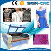 Large size 1600x1000mm co2 laser automatic fabric cutting machine price