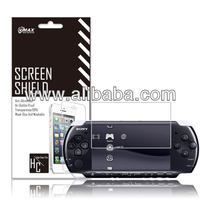Best Quality Game Player screen protector for Sony PSP / PSP 2000 3000 oem/odm (High Clear)