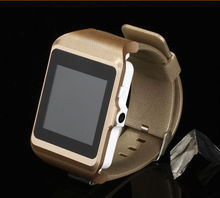 New Syle Gold Mobile watch Phone Smart Bluetooth Smartphone Watch With Video Record Music player
