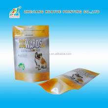 2015 New Style China Custom Printed Biodegradable Stand Up Plastic Pet Food Bag