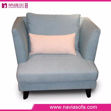 Hot sale Living room furniture with arm modern fabric single seat sofa