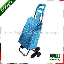 portable luggage trolley american supermarket rack