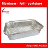 Disposable Rectangular Aluminium Food Container And Matching Cover