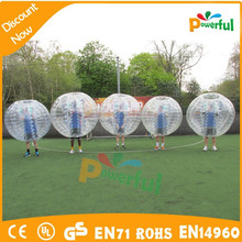 Direct manufacturer cheap bumper ball inflatable ball,football bubble ball,inflatable clear plastic ball