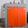 2015 hot sale hot air circulation industrial oven plant for electrostatic powder coat/cure/bake