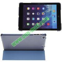 Polyurethane 3-folding Smart Cover Case for iPad Mini 2 Retina with Holder