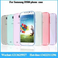 New Products in alibaba China cell phone case for Samsung galaxy i9500 cell phone case printer TPU ultra thin cell phone case