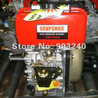 air cooled 1/one/single cylinder OHV 10hp small diesel engine moteur motoer YM186FSE 1800rpm for generator