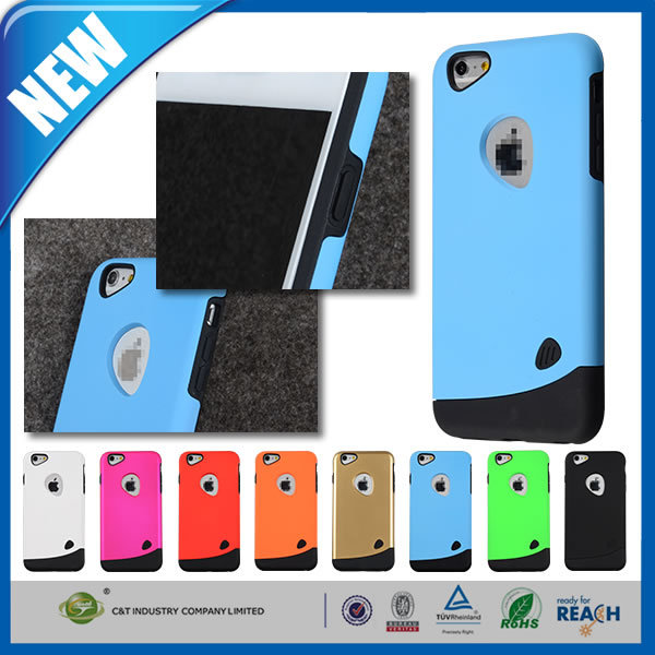 C&T PC TPU Hybrid for i phone cover,for iphone back cover,for iphone cover