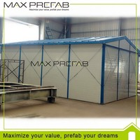 Good quality easy assemble cheapest prefabricated chicken house