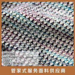 colorful style for garment yarn dyed women fabric dots design knit hatchi