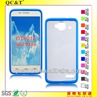TPU+PC Case For Alcatel OT6012/Idol mini