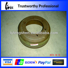 Dongfeng material used for trailer brake drum for EQ1061 heavy trucks