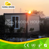 Low cost prefabricated module house container plans
