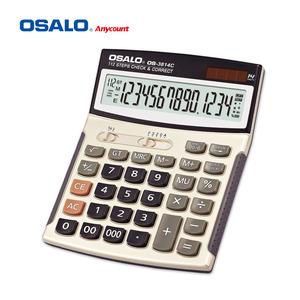 OS-3814C 99 шаг Проверьте правильность финансовые электронный калькулятор