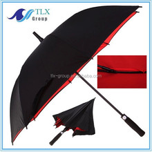 Hot new products for 2015 double layer golf umbrella / high quality promotion umbrella / on line shopping golf umbrella