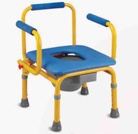 Rehabilitation Therapy Supplies Topmedi TCM813(s) adjustable children commode chair