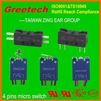 2015 zing ear ul listed micro switch valve t85 5e4, ul, cul, enec approved high temperature lift limit switch