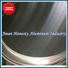 Hot rolling Aluminium sheet circle/disc/disk 3003 1100 1050 1060 for cookware producing