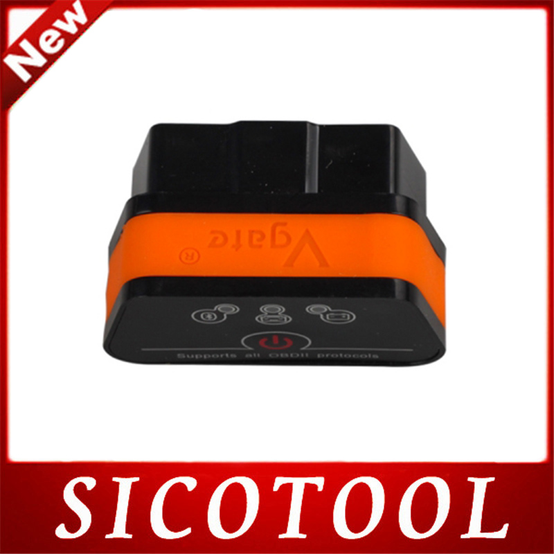 2015 Newest Vgate iCar 2 Bluetooth Version ELM327 OBD2 Code Reader iCar2 For Android/ PC (Six Color Available)