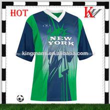 la costumbre de fútbol uniforme de ventas caliente kit de fútbol fabricante