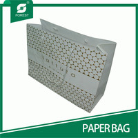 LARGE SIZE ART BOARD PAPER BAGS FOR SHOPPING WITH TWISTED HANDLE