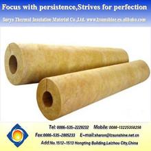 materiale di isolamento lana di roccia tubo di vapore lana minerale tubo
