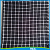 Popular 2015 white and black plaid scarf