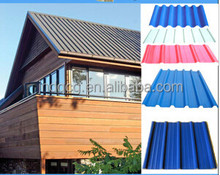 light weight colorful stone coated metal roofing tile / corrugated roofing sheet / construction material