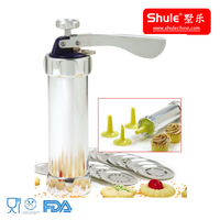 20 dies aluminum household manual small used biscuit making machine
