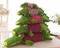 2015 new custom crocodile toy plush, stuffed plush crocodile