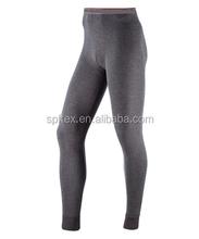 Black Angora Mens Thermal Pants/Long Johns