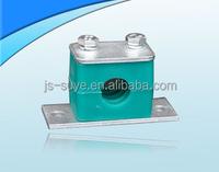 high quality square plastic tube clamp