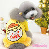 Fashion winter pet apparel dog clothes