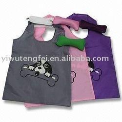 foldable dog bone bag