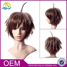 Wholesale js and company cheap hair wig synthetic bob brown free wig catalogs