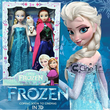 Wholesale Frozen figure dolls toy frozen Elsa dolls Princess Elsa Anna with Olaf