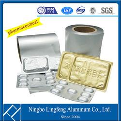 1100 1235 8011 soft pharmaceutical aluminium jubmo foil