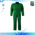 Manga comprida de algodão / poliéster salão de beleza uniforme macacão workwear segurança