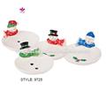pintado a mano personalizado de cerámica de navidad candy platos