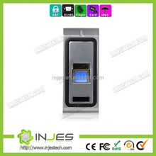 INJES high quality IP65 waterproof USB port biometric door security system