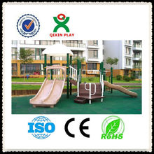 LLDPE kids outdoor playground equipment/kids outdoor games/children playsets outdoor QX-11049D