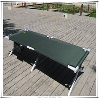 military folding camping bed Folding army camping bed with 600D carrying bag