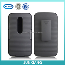 New products 2016 holster combo case for motorola moto G3 xt1064