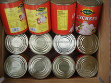 Canned HeiYe Lychee Fruit in Light Syrup Fresh Choise Whole Lychee Mass Production
