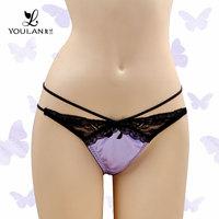Popular Graceful Lace Minimizer Sexy Girls C String Thong