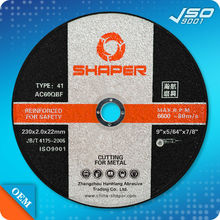 Stainless Steel Metal Cutting Angle Grinder Discs 75 100 115 230mm