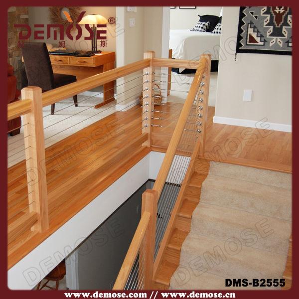 int rieur escalier en bois garde corps int rieur bois. Black Bedroom Furniture Sets. Home Design Ideas