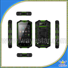 Rugged MTK6572 Dual Core 4inch Waterproof 3G Smart Cell Phone Made in China