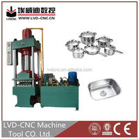 Y32 four column hydraulic press 1000 Tons deep drawing hydraulic press machine for stainless steel kitchen sink